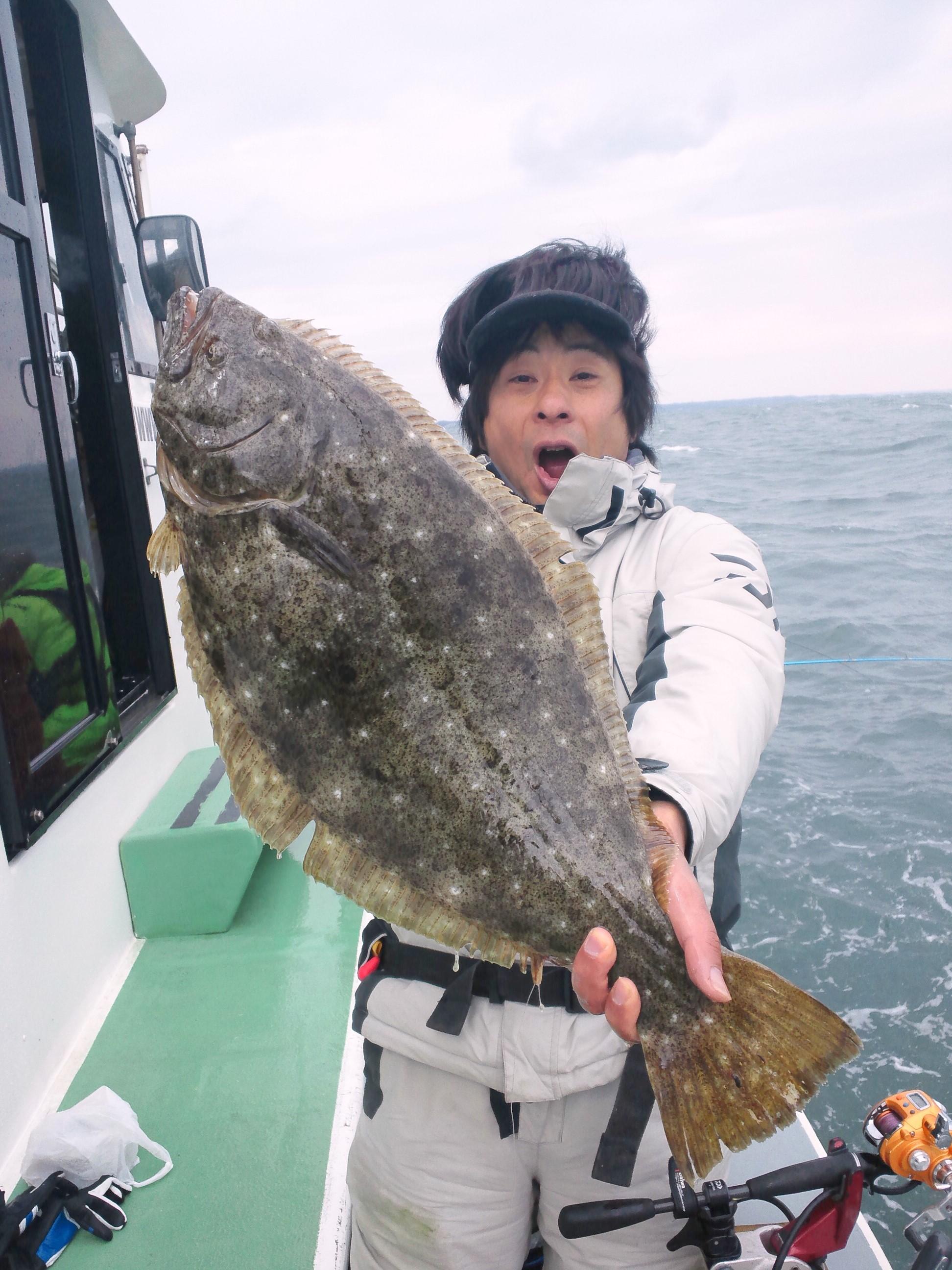 2月28日(火)LTヒラメ釣果
