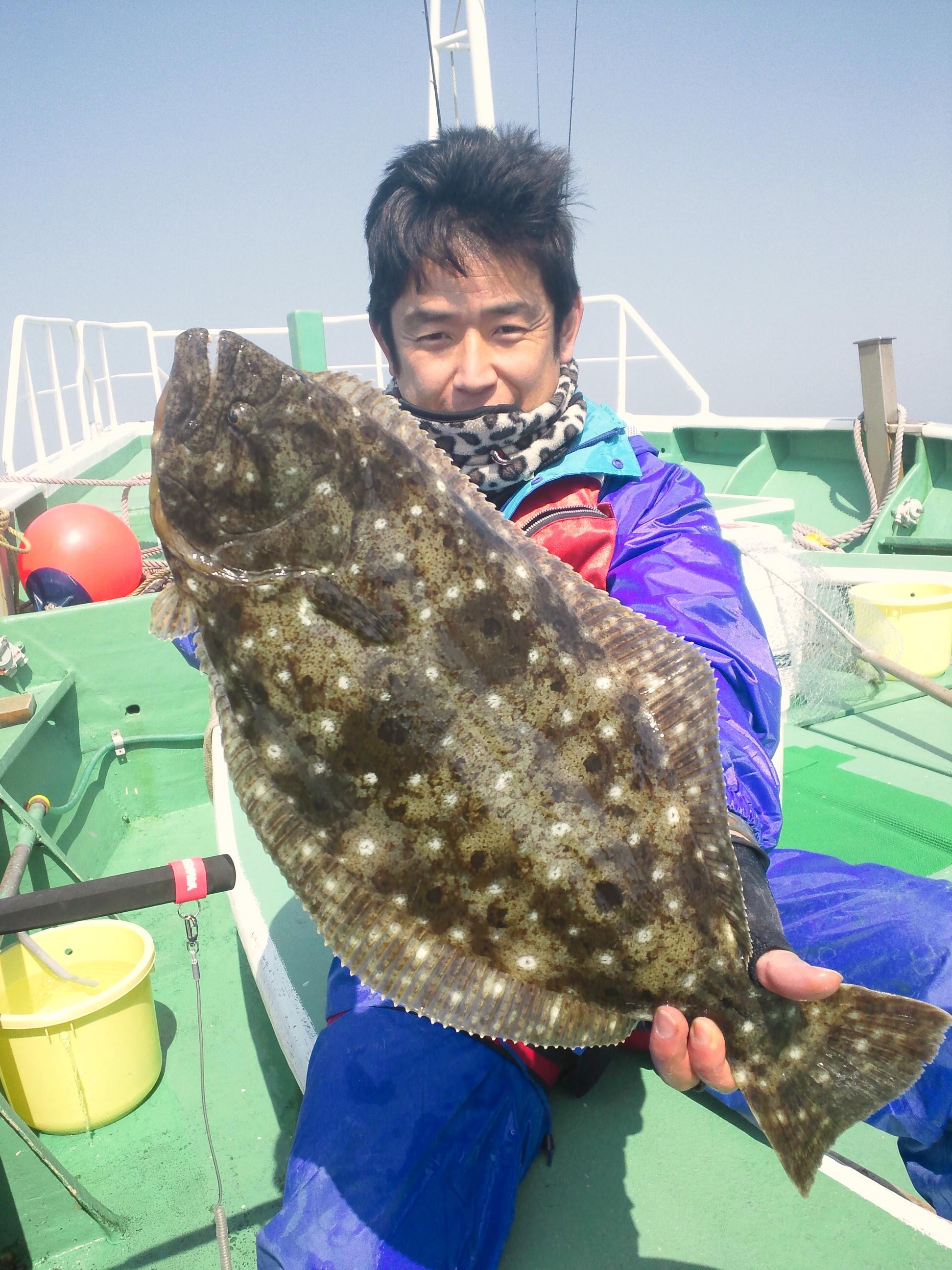 3月28日(水)LTヒラメ釣果