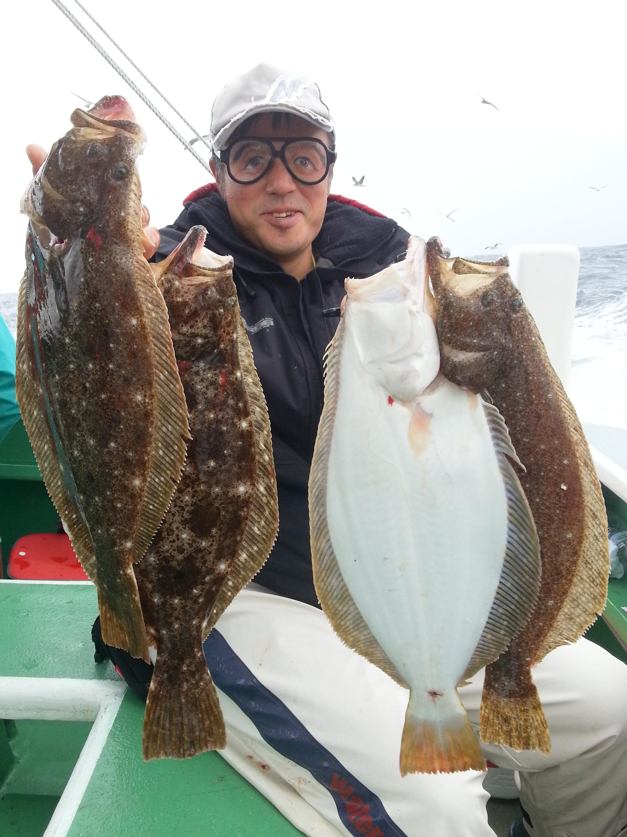 10月28日(日)LTヒラメ釣果